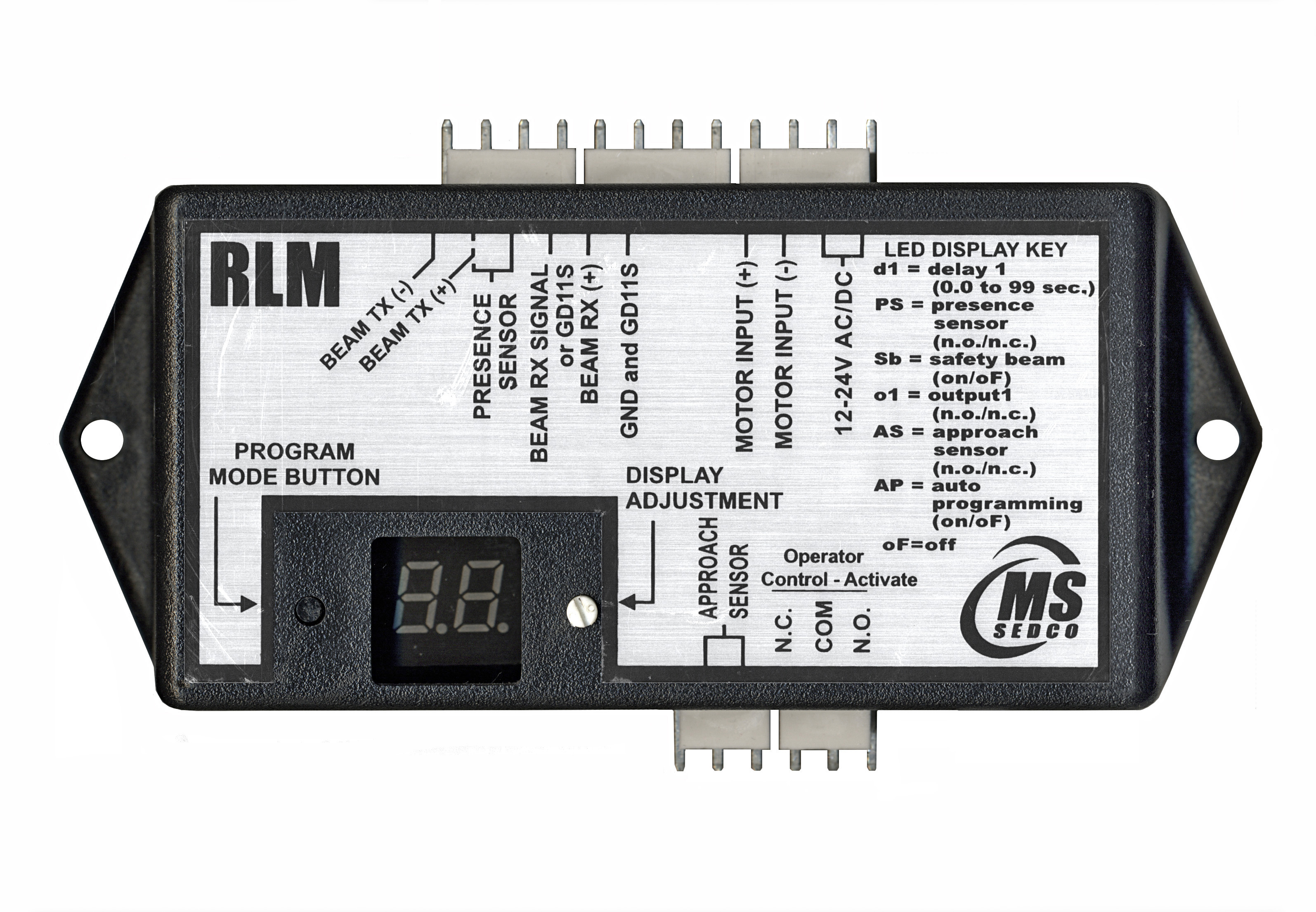 RLM Relay Lockout Module with Optional Safety Beams