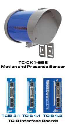 TC-CK1-SBE INTERSECTOR™ Microwave Motion and Presence Sensor
